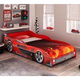 Cama Infantil Carro Speed Vermelho