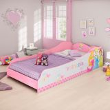 Cama Infantil Princesas Disney Plus 3A Rosa