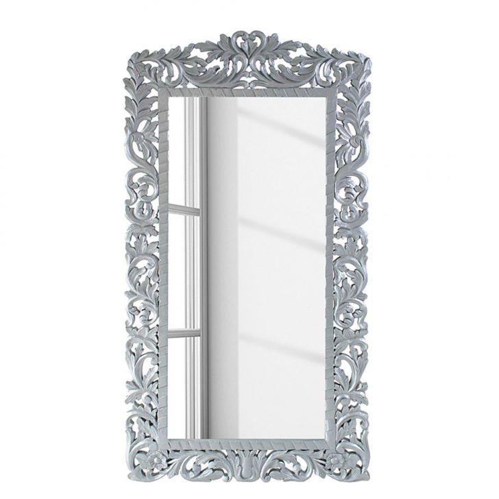 Espelho Graça II Prata 177x89 cm - Mango DESCONTO DE R$: 1.810,00 (67,04% OFF) - OFERTA MOBLY