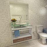 Gabinete com espelho e cuba Pollux Branco