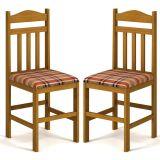 Kit 2 Cadeiras de Cozinha 200 Cerejeira