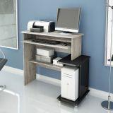 Mesa para Computador Byte Neblina & Preto