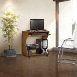 Mesa para Computador Imbuia & Preto