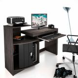 Mesa para Computador Shari Vulcano & Preto