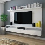 Painél para Tv Zeus 2.2 Branco Gloss