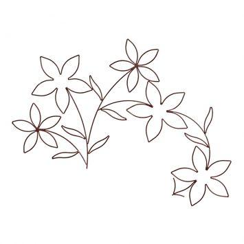 Ramos de Flores de Parede Mobly 2318060