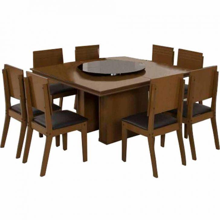 Conjunto de Mesa de Jantar Lugano I Imbuia