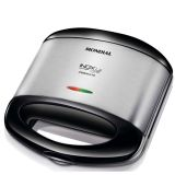Grill e Sanduicheira Inox Premium - Mondial-110 Volts