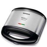 Grill e Sanduicheira Inox Premium - Mondial-220 Volts