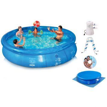 Combo Piscina Splash Fun 110V 8500 L Mor Combo Splash Fun 110V