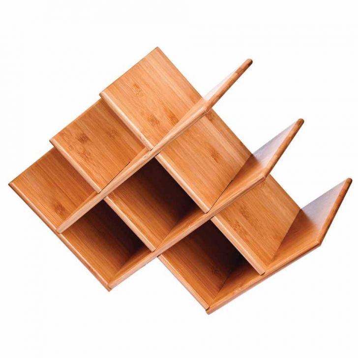 Rack Para Vinho Mor de Bamboo