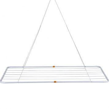 Varal de Teto 1,20 x 0,56 cm Branco Mor Teto