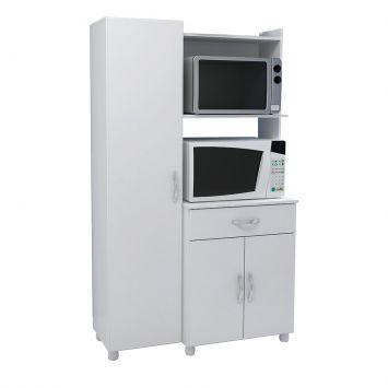 Paneleiro m collection Branco 4080010 Multimóveis Armário Multidecor 4080010 Branco