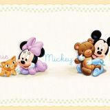 Papel de Parede Border Coleção Disney Bege Mickey 2573-1