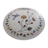 Tampo de Mesa em Mosaico edição flores
