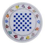 Tampo de Mesa em Mosaico edição xadrez
