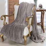 Cobertor Toque de Seda Casal Chocolate Niazitex