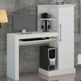 Mesa Para Computador Safira Branca Notável