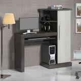 Mesa Para Computador Safira Carv. Black e Artico Notável