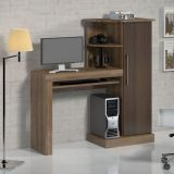 Mesa Para Computador Safira Ipe Tx e Rovere Notável
