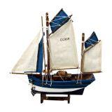 Barco Pesca M Branco e Azul Nusa Dua