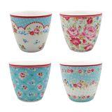 Jogo com 4 Vasos Mary Garden FineCasa Nusa Dua