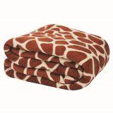 Cobertor de Microfibra  King Size Girafa