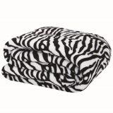 Cobertor de Microfibra King Zebra