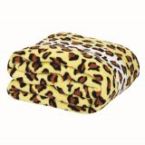 Cobertor de Microfibra Soft Solteiro Onça