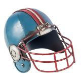 Capacete Futebol Americano Azul Oldway 14x19x14