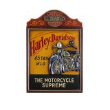 Quadro Harley Davidson Motorcycle Oldway