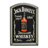 Quadro Jack Daniels Preto 60X40X4cm OLDWAY