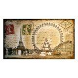 Quadro Selo Paris Eiffel Oldway 160X90