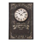 Relógio Porta Chave Oldway Preto