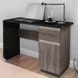 Escrivaninha Office Click Cinza & Preto