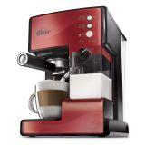 Máquina de Expresso Oster Prima Latte Vermelha