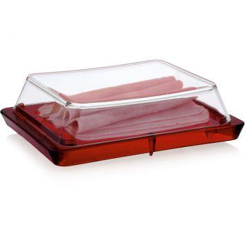 Porta Frios Vitra Vermelho 20 x 15 x 5,5 cm Ou Vitra