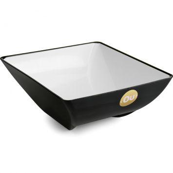 Saladeira Fusion Bicolor Preto 3,5 l Ou Vitra