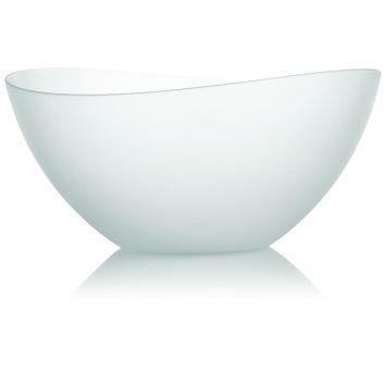 Saladeira Wave Cristal Neutra Incolor 4 l Ou Prisma