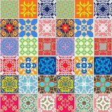 Adesivo de Parede Azulejos Coloridos 47x1000