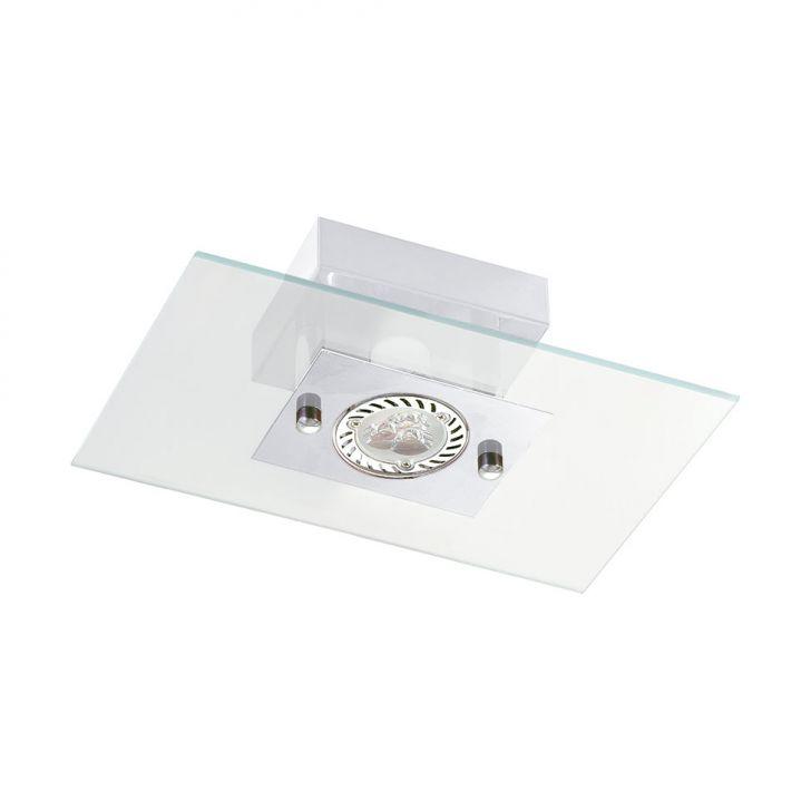 Plafon Retangular 6048 10X23X15 1 Lâmpada Branco Pantoja&Carmona DESCONTO DE R$: 30,00 (21,43% OFF) - OFERTA MOBLY