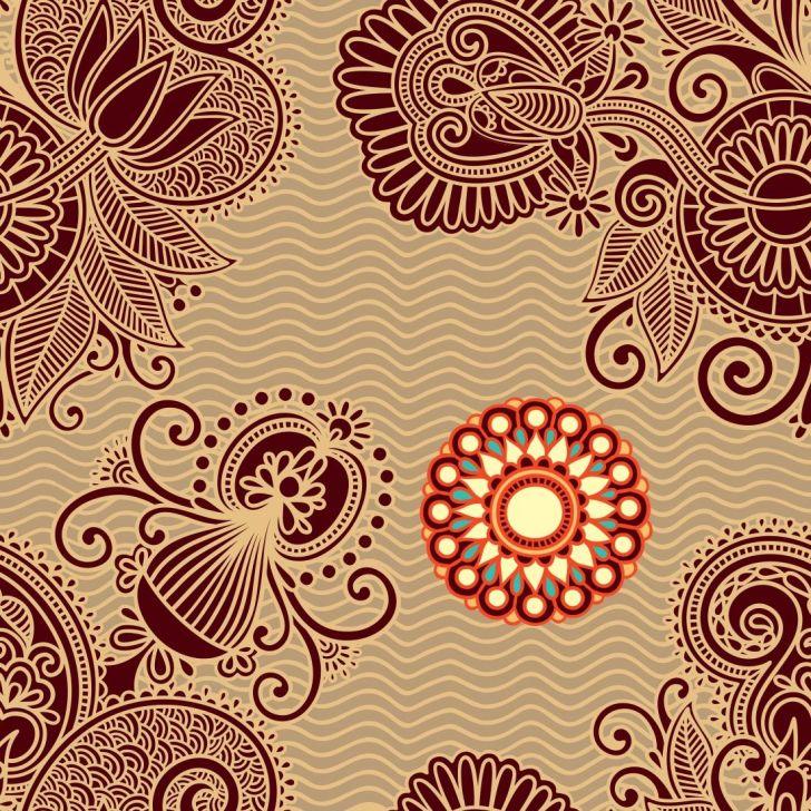 Papel de Parede Autocolante Rolo 0,60 x 5M - Floral 666 DESCONTO DE R$: 40,00 (24,24% OFF) - OFERTA MOBLY