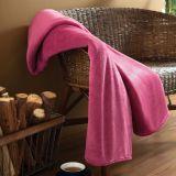 Cobertor Casal Microfibra Rose Escuro Parahyba