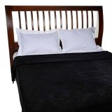 Cobertor Microfibra Solteiro Preto 150x200 | Cobertores Parahyba
