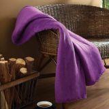 Cobertor Microfibra Solteiro Violeta 150x200 | Cobertores Parahyba