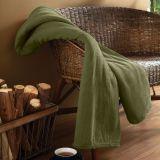 Cobertor Solteiro Microfibra Verde Petroleo Parahyba