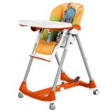 Cadeira para refeição Prima Pappa Diner Hippo Arancio - Peg-Pérego