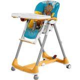 Cadeira para refeição Prima Pappa Diner Hippo Giallo  - Peg-Pérego