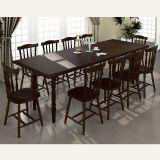 Sala de Jantar Completa Foz c/ 10 Cadeiras Castanho/Imbuia - Piratini