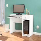 Mesa Para Computador Grajau Branca Politorno